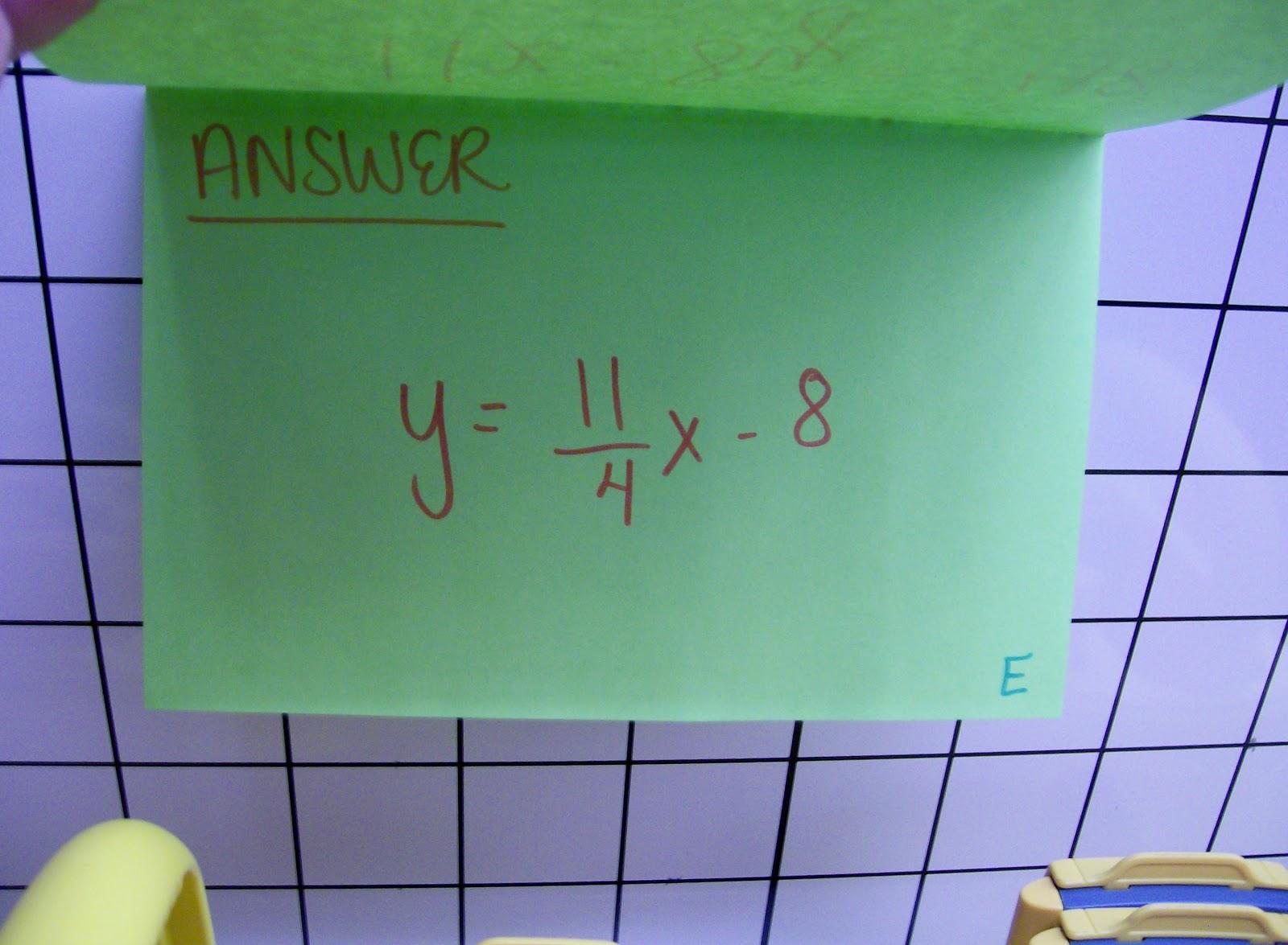 Math = Love  Literal Equations Scavenger Hunt