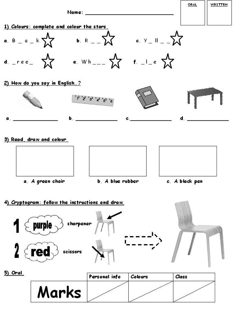 Mesmerizing Free English Printable Worksheets For Grade 1 On Grade