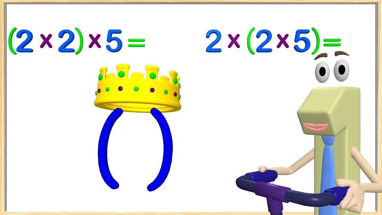 Multiplication Associative Property 3rd Grade