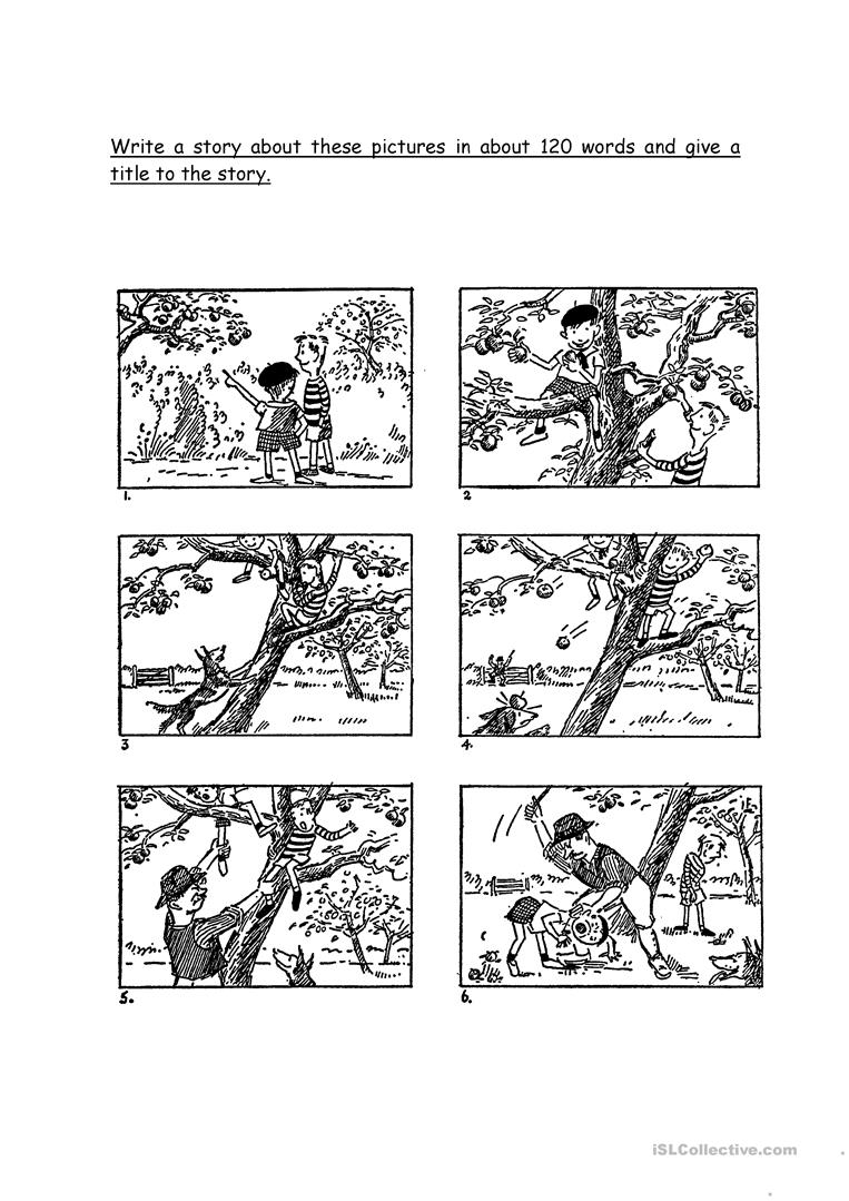Picture Composition Worksheet