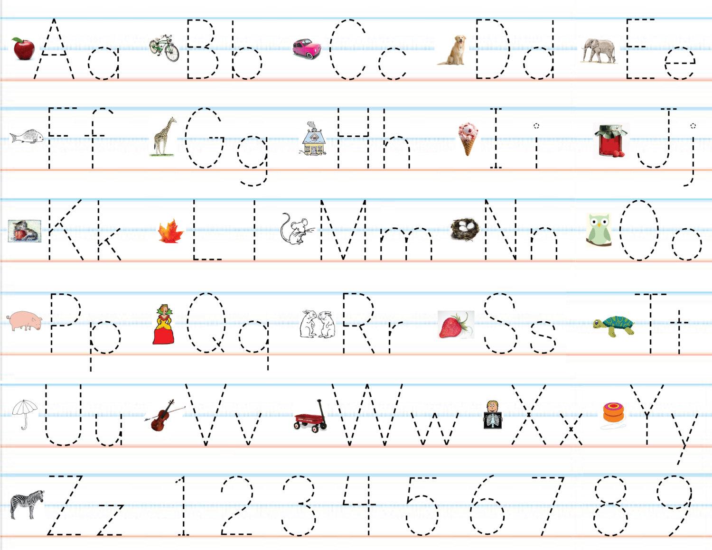 Pre K Worksheets For Handwriting Worksheets For All