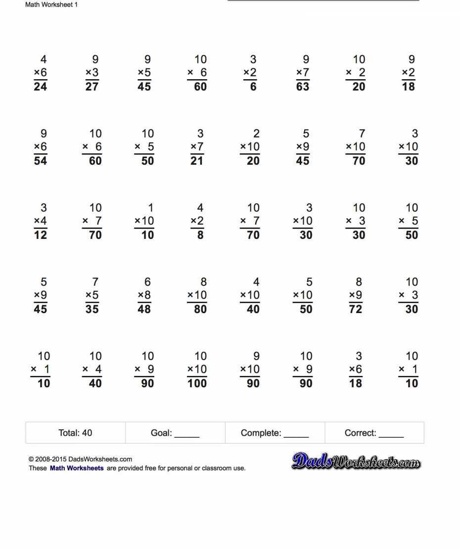 Premium Sample Kumon Math Worksheets ~ Premium Worksheet