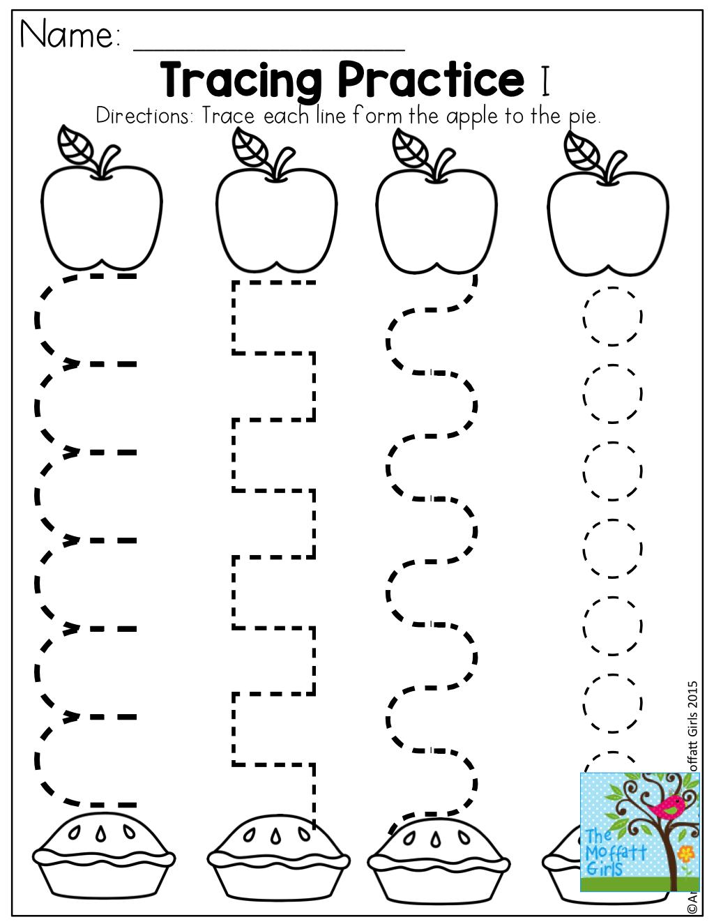Preschool Apple Worksheets Worksheets For All