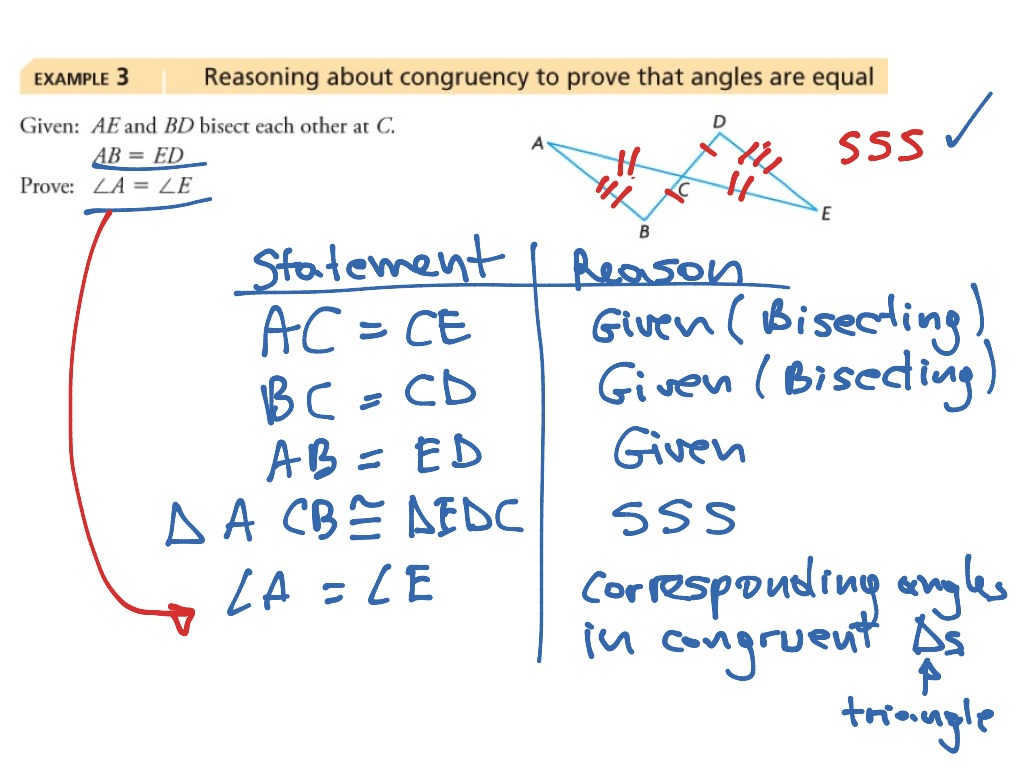 Proving Congruent Triangles