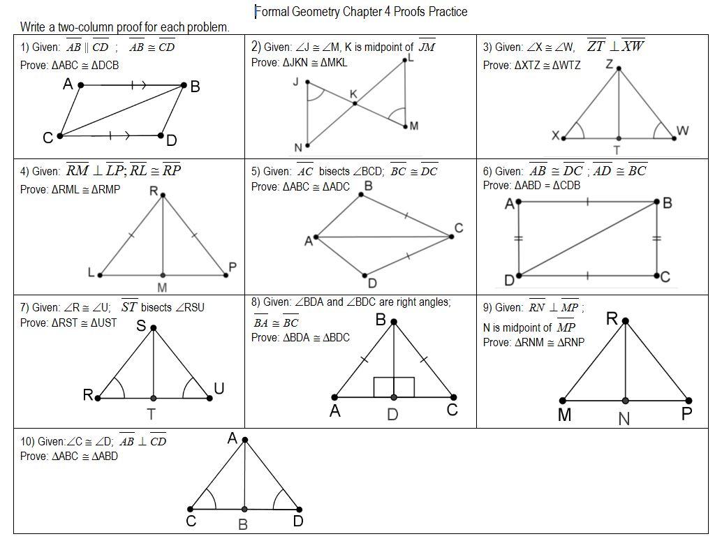 proving triangle congruence worksheets. Black Bedroom Furniture Sets. Home Design Ideas