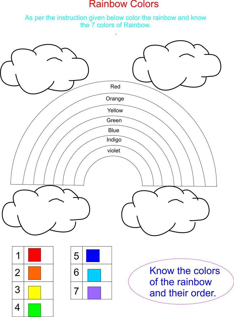 Rainbow Has 7 Beautifull Colors