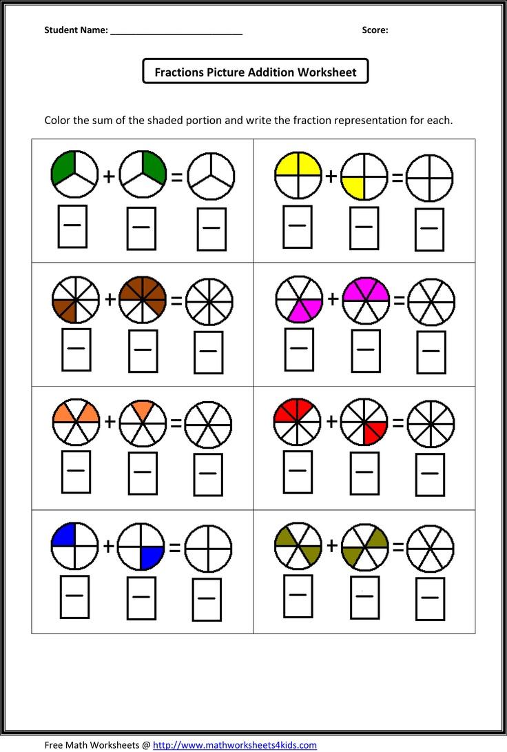 Simple Equivalent Fractions Worksheets Koogra 3rd Grade Math 21