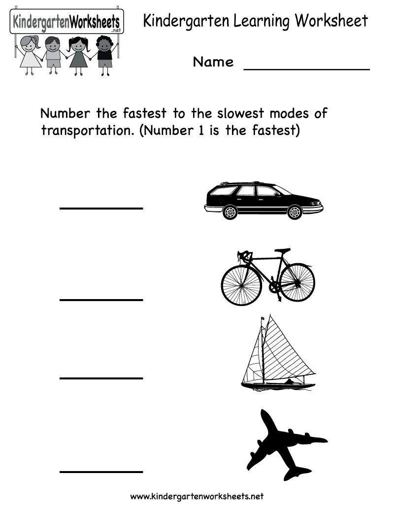 Social Studies Worksheets For Kindergarteners Worksheets For All
