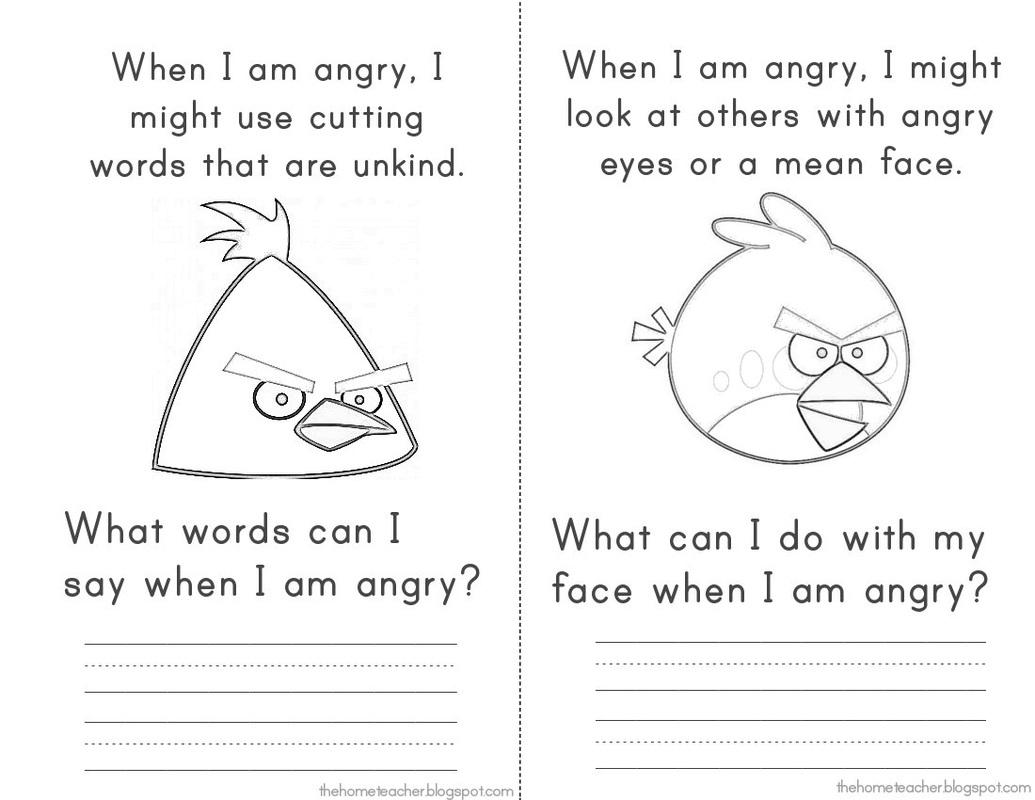Spa In Anger Management Worksheet Worksheets For All
