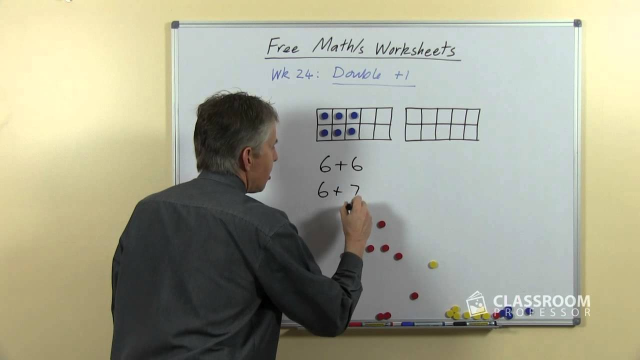 Teach Double Plus 1 Addition Facts