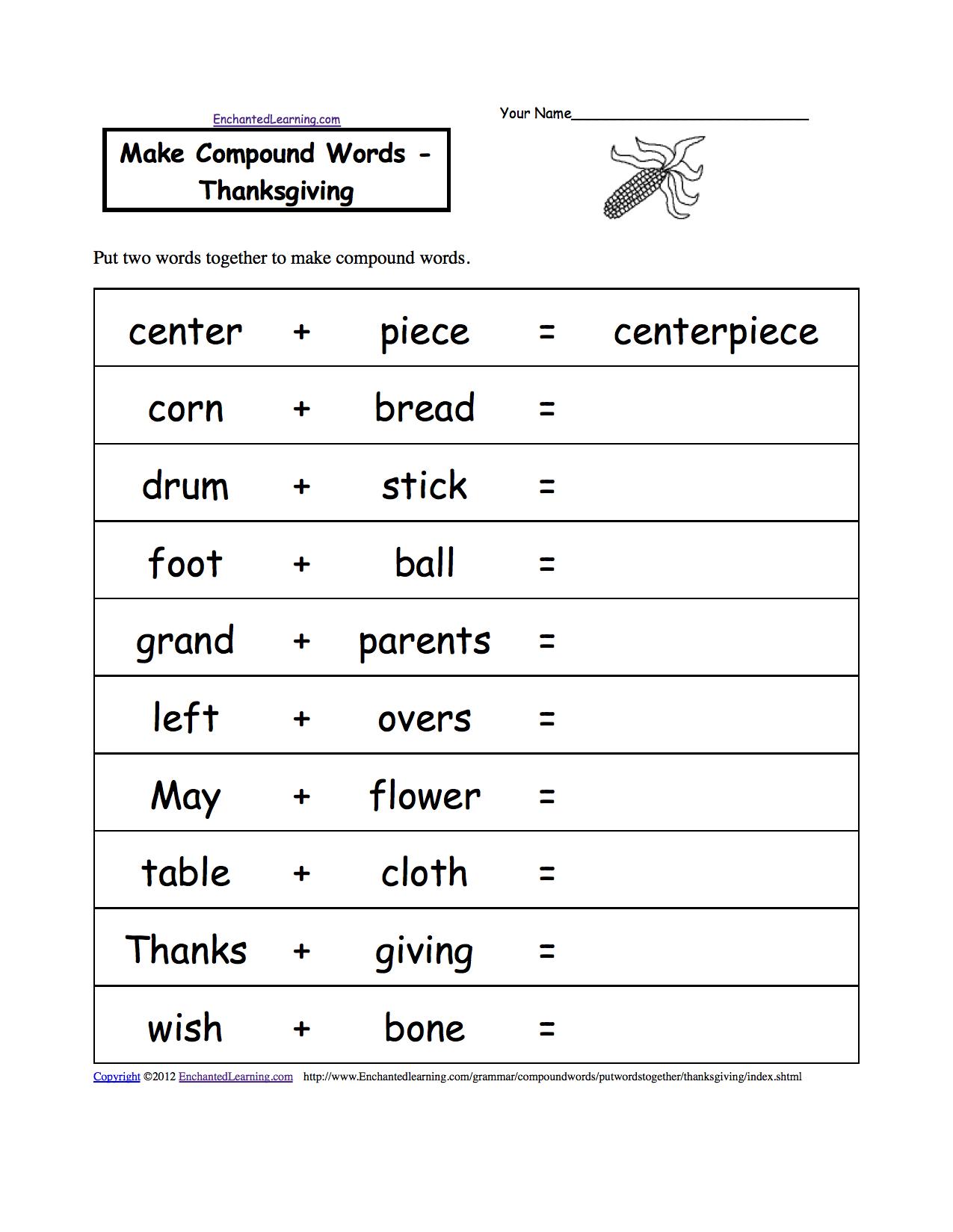 Thanksgiving Worksheets For 3rd Grade The Best Worksheets Image