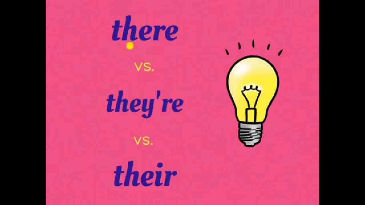 There Vs  They're Vs  Their (homophone Game Ep  1)
