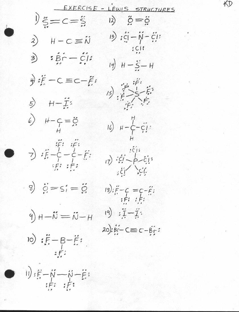 Vsepr Homework 1