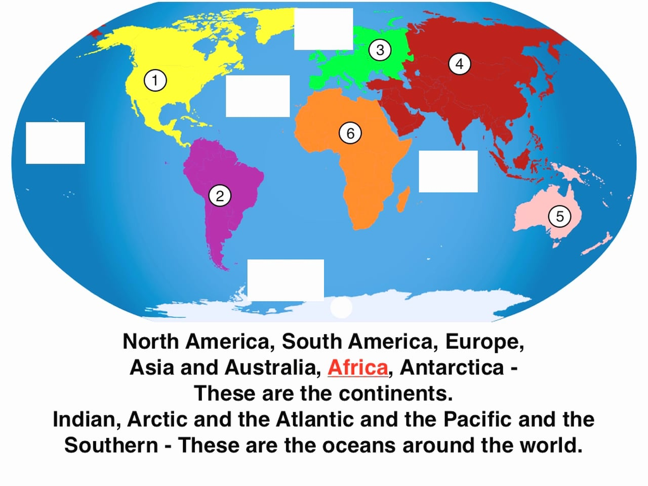 Watch Continents And Oceans Song Lesson From Geography Songs World