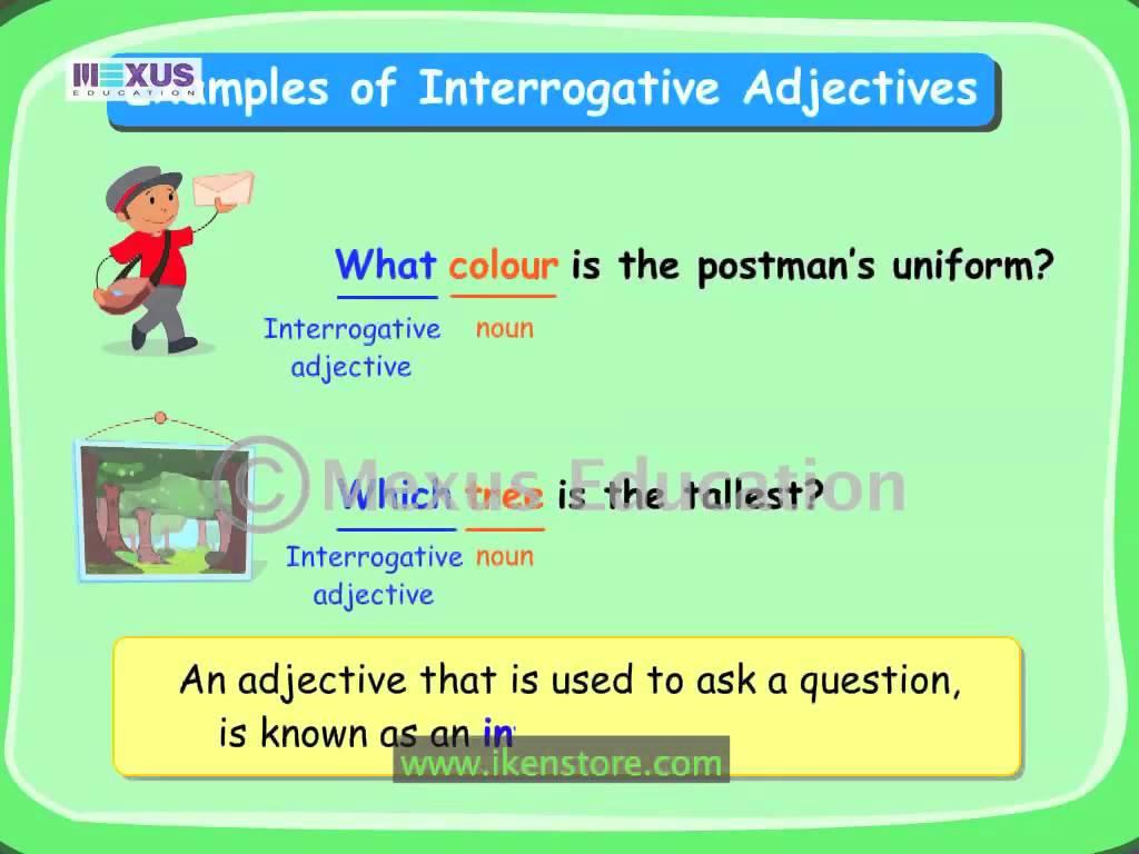 Workbooks » Interrogative Pronoun Worksheets