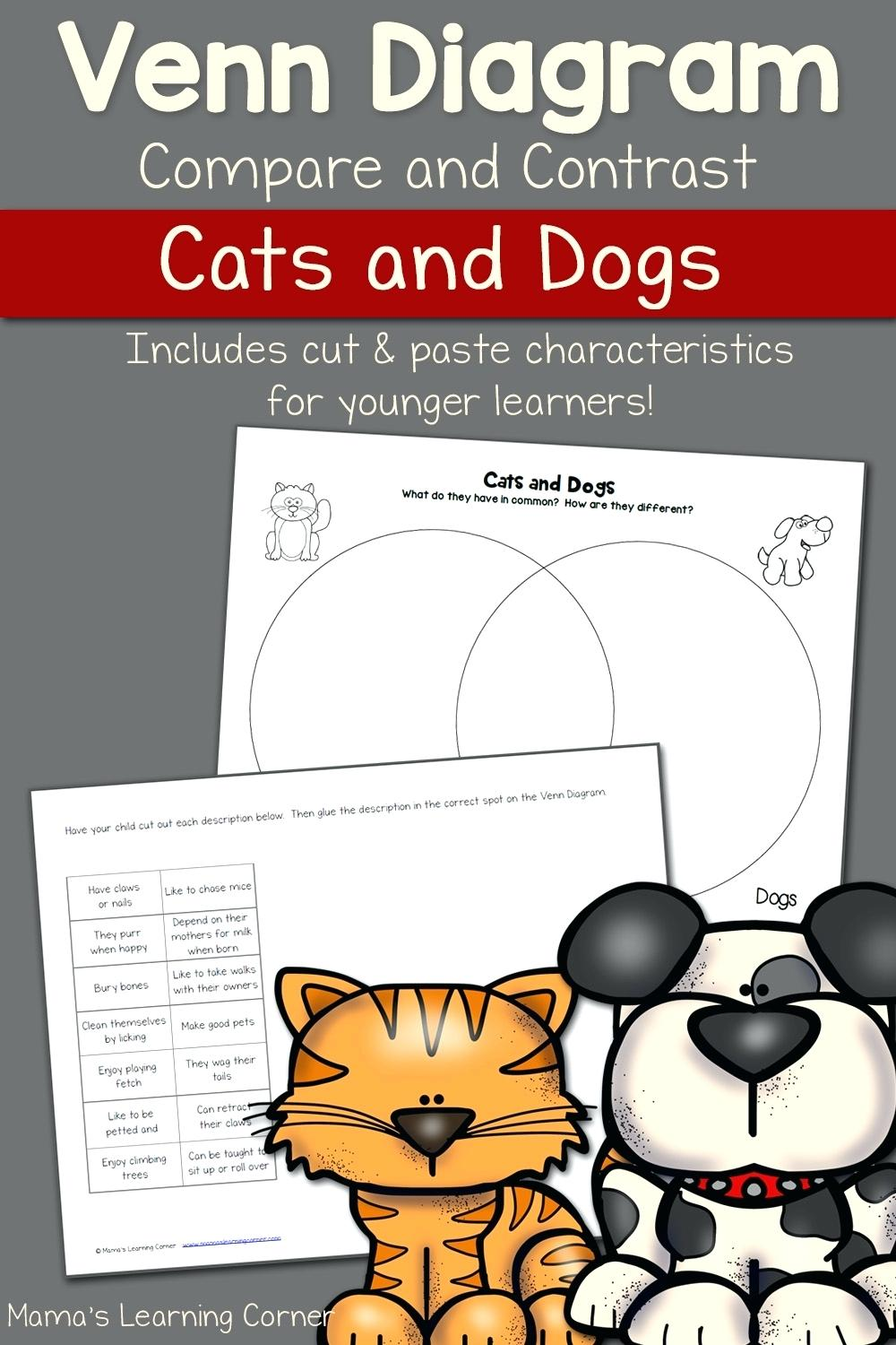 Worksheet  Compare And Contrast Worksheets For 1st Grade
