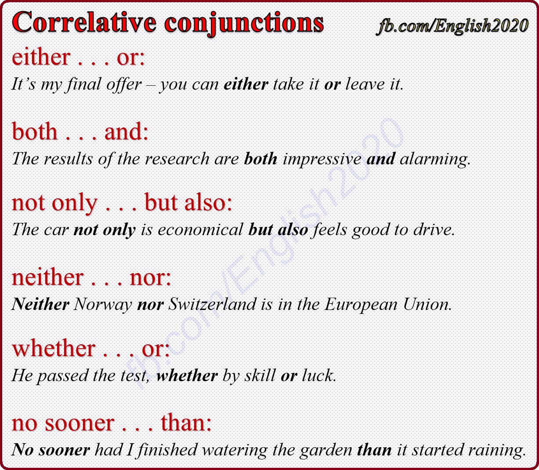Worksheet  Correlative Conjunctions Worksheet  Lindacoppens
