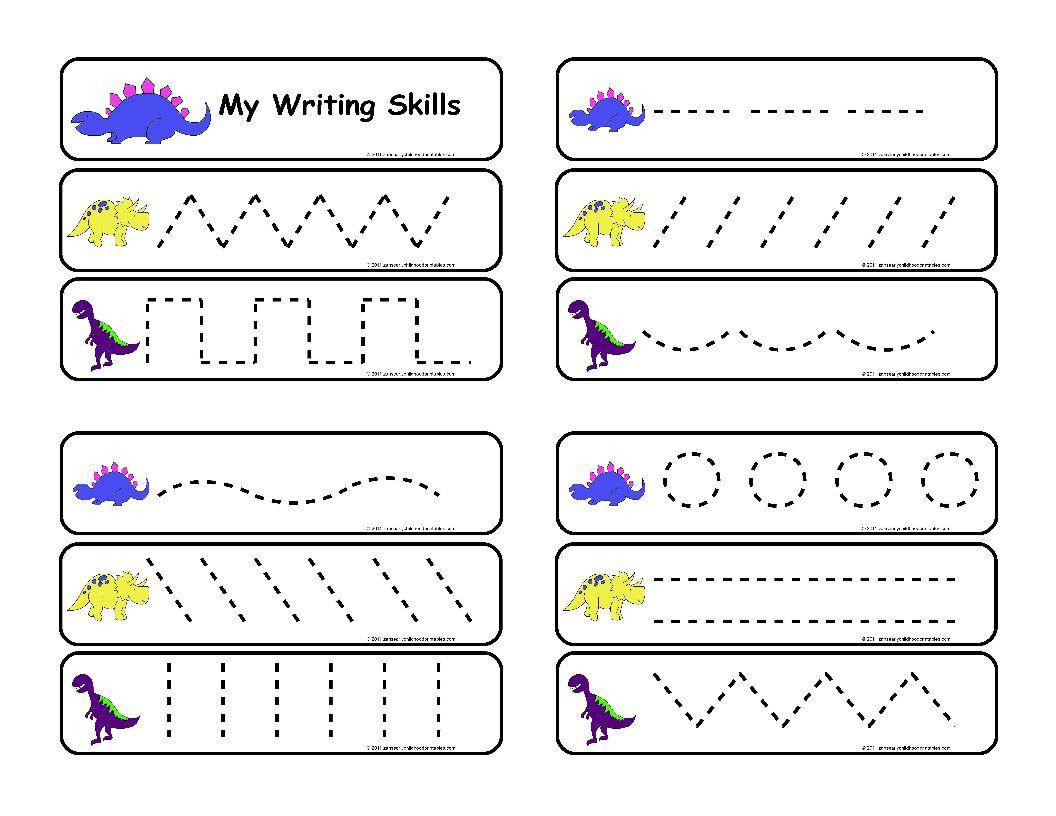 Worksheet  Preschool Writing Worksheets  Lindacoppens Worksheet