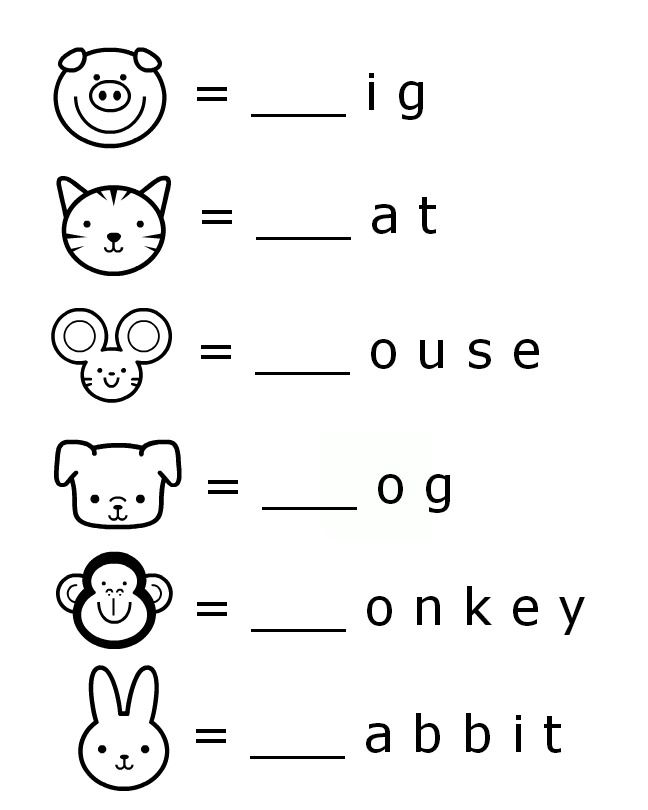 Worksheets For Toddlers Printable