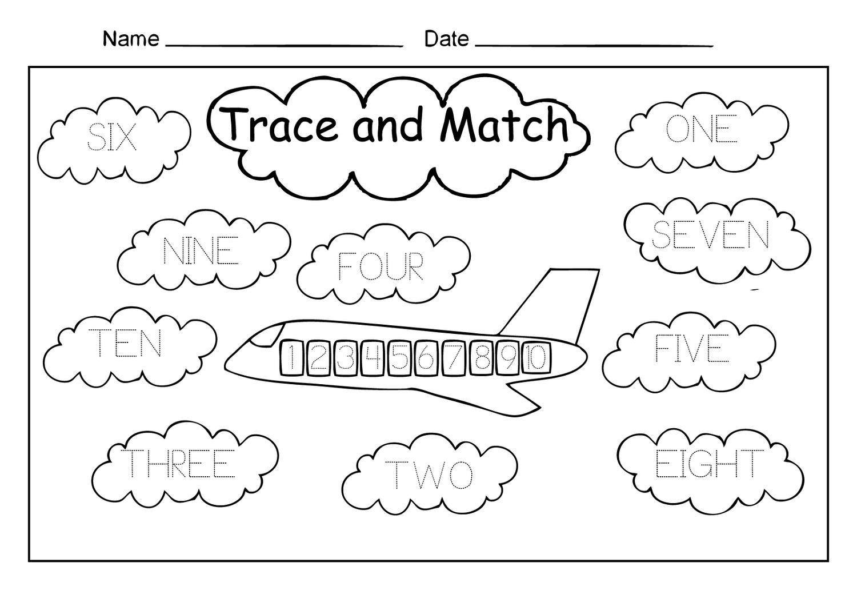 Writing Numbers Worksheets For Kindergarten Pdf New Numbers 6 10