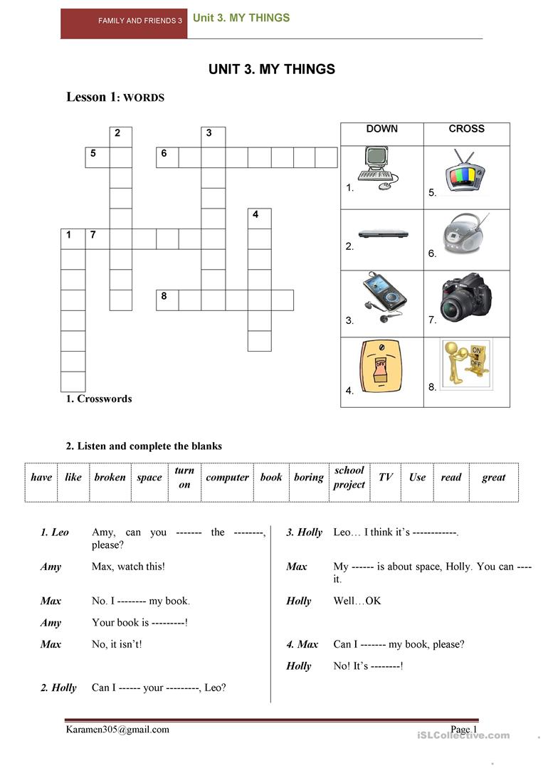 10 Free Esl Family And Friends Worksheets
