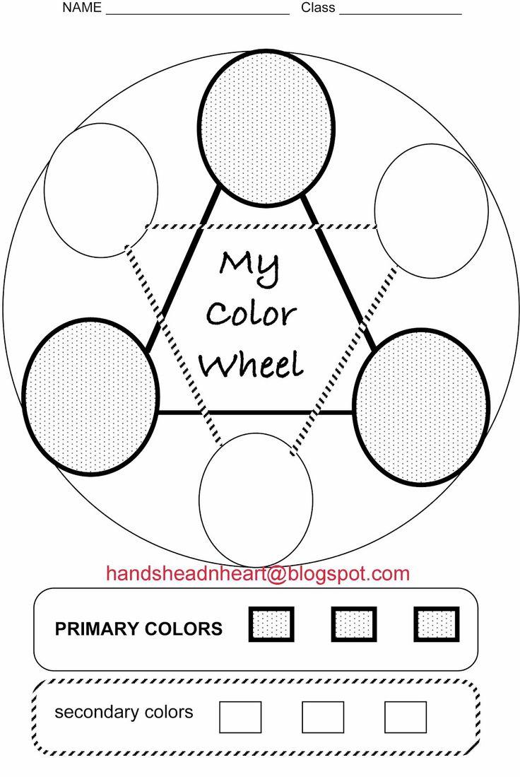 54 Best Color Wheel Images On Worksheets Samples