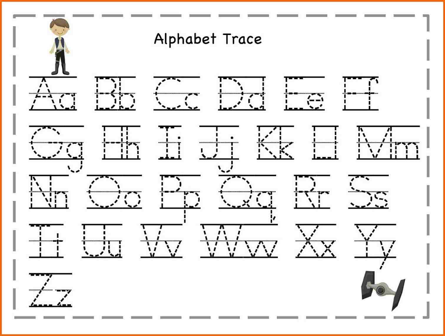 5+ Abc Tracing Worksheets