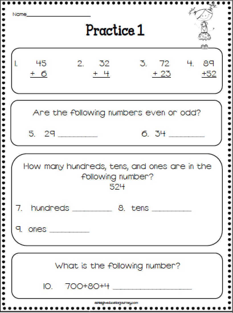 5th Grade Math Test Practice Worksheets Best Of 2nd Grade Math