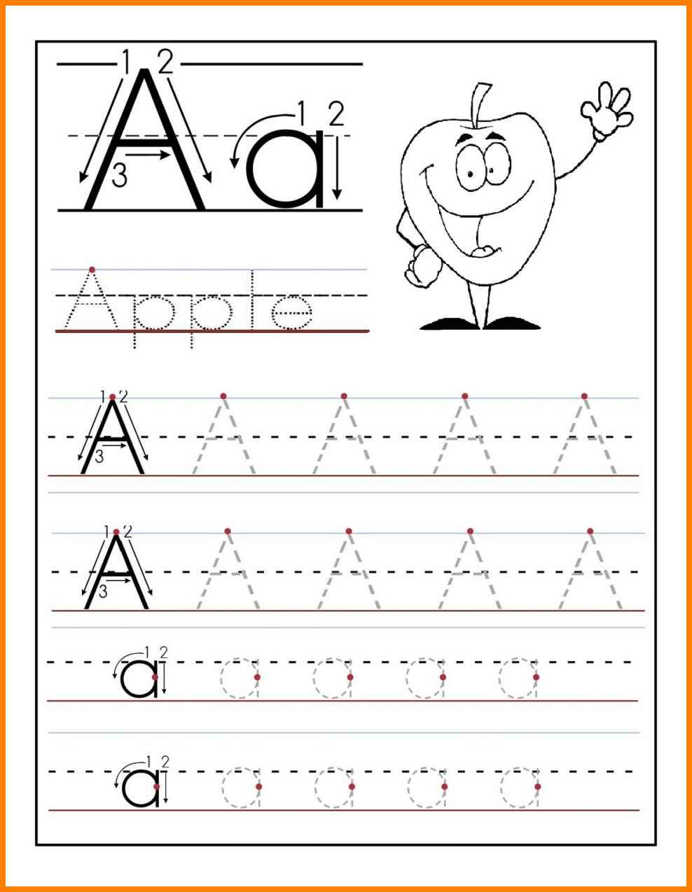 8 Printable Tracing Letters