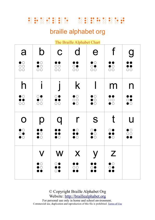 Alphabet A4 Printable