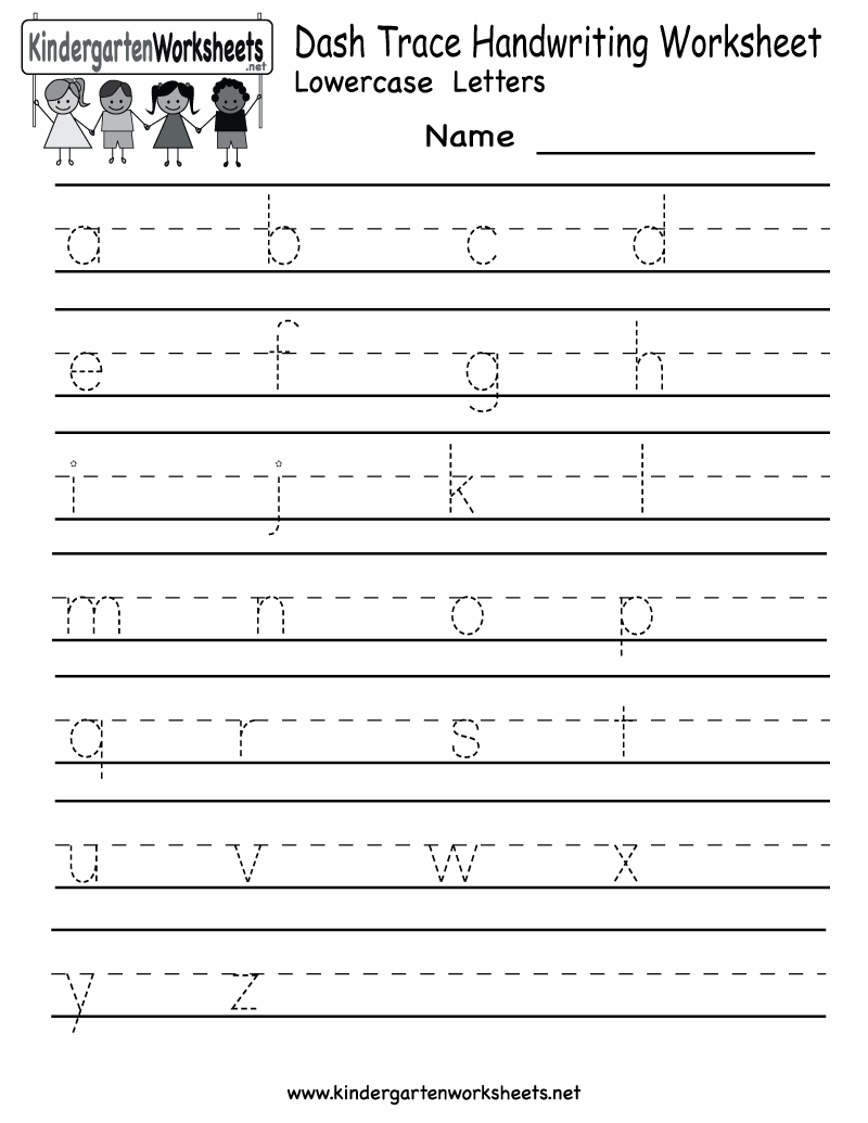 Alphabet Writing Worksheet The Best Worksheets Image Collection