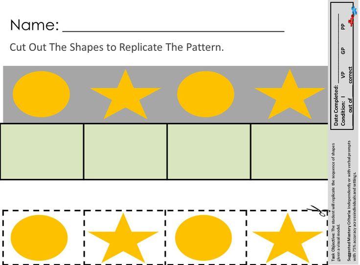 Autistic Worksheets