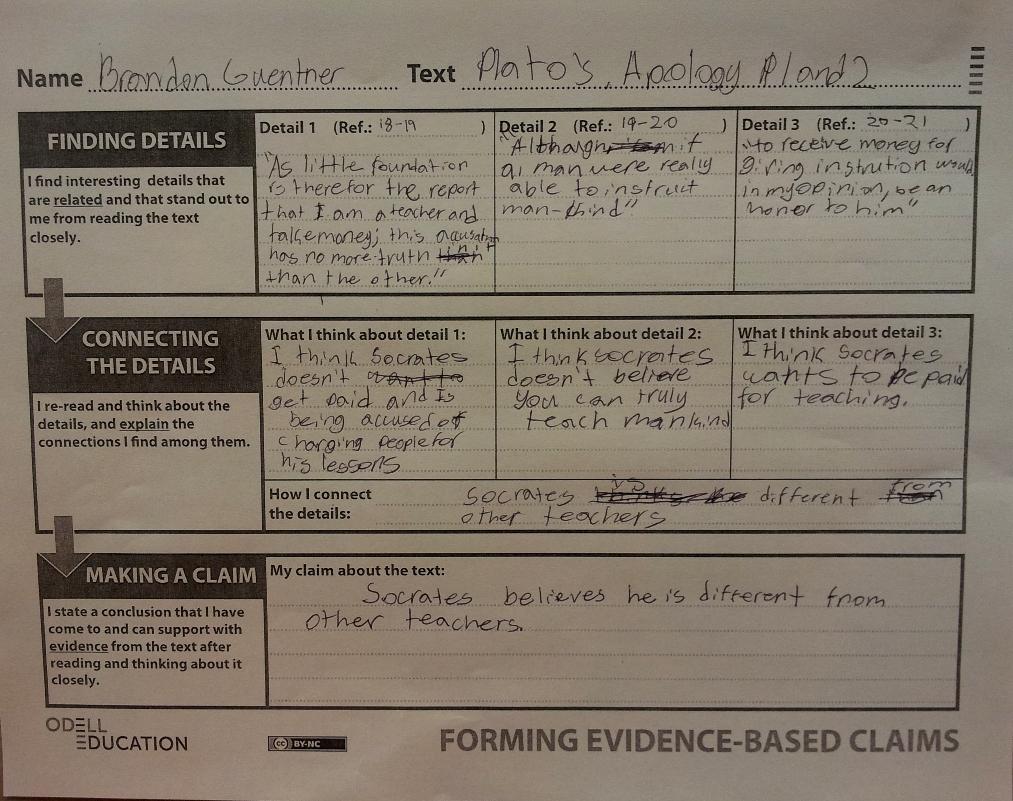 Binders Full Of Evidence