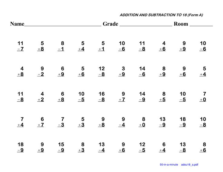 Blank Addition Worksheets Kindergarten 687249