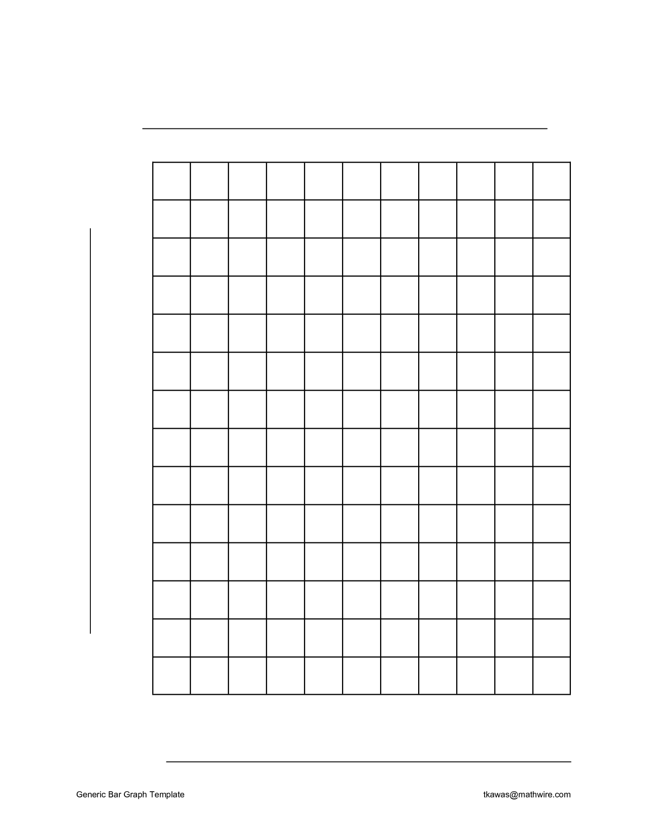 Blank Bar Graphs To Print The Best Worksheets Image Collection