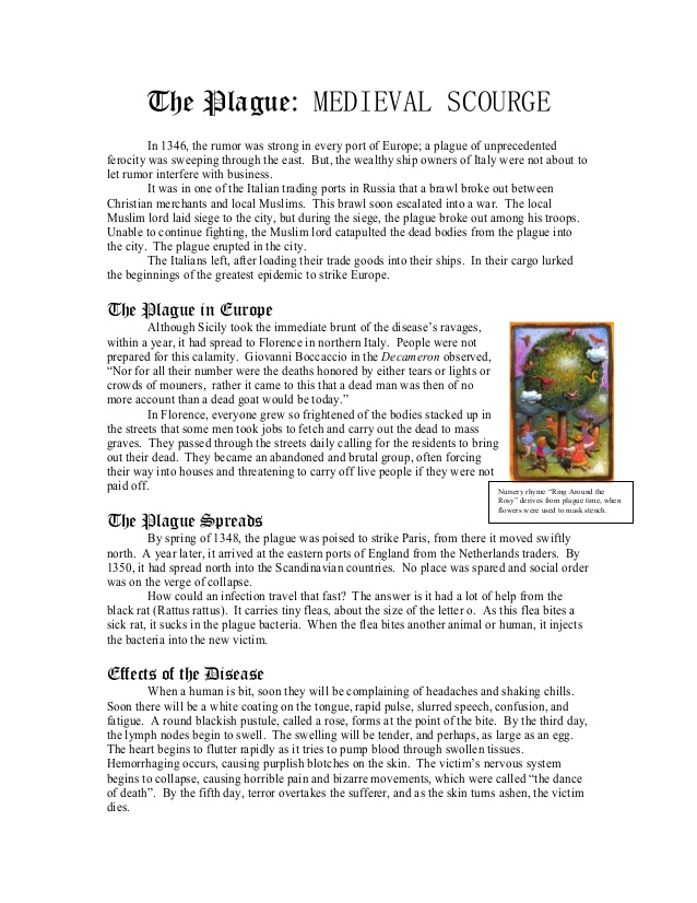 Bubonic Plague Worksheet The Best Worksheets Image Collection