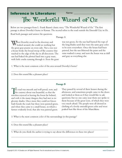 Bunch Ideas Of Inferences Worksheets High School On Letter