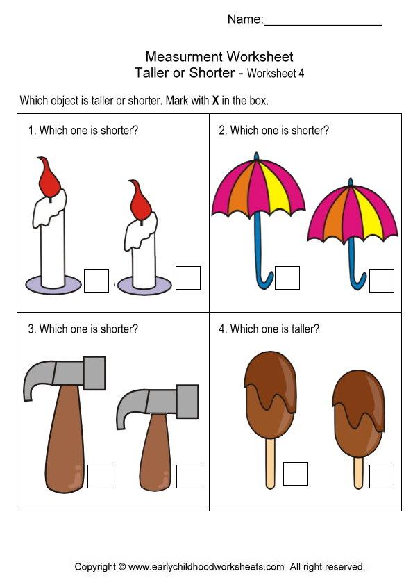 Choosing The Right Measurement Worksheet The Best Worksheets Image