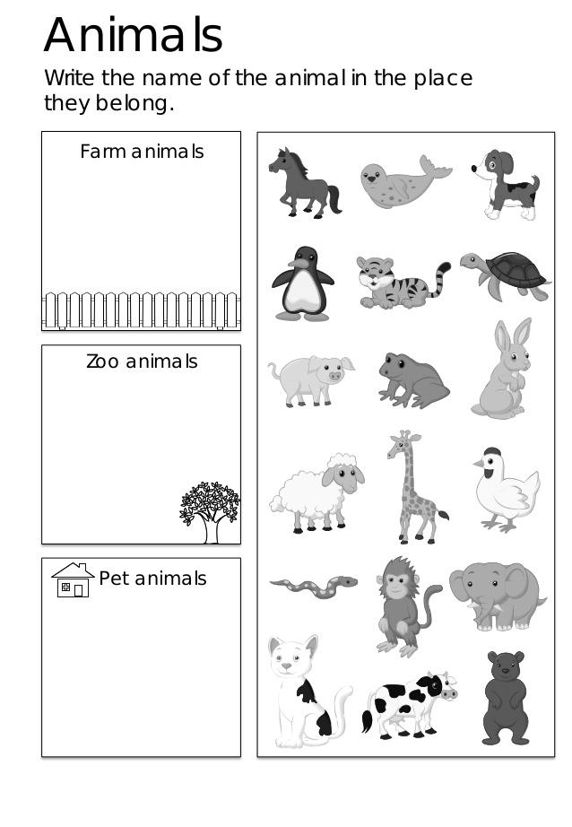 Collection Of Kindergarten Worksheets For Esl Students
