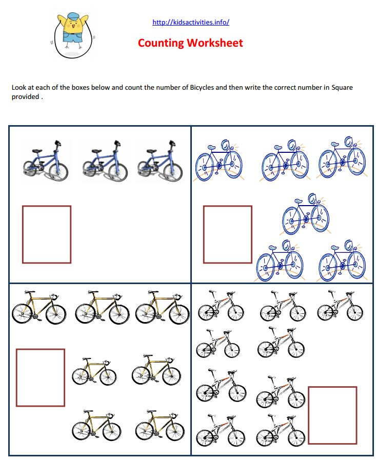 Collection Of Preschool Maths Worksheets Pdf