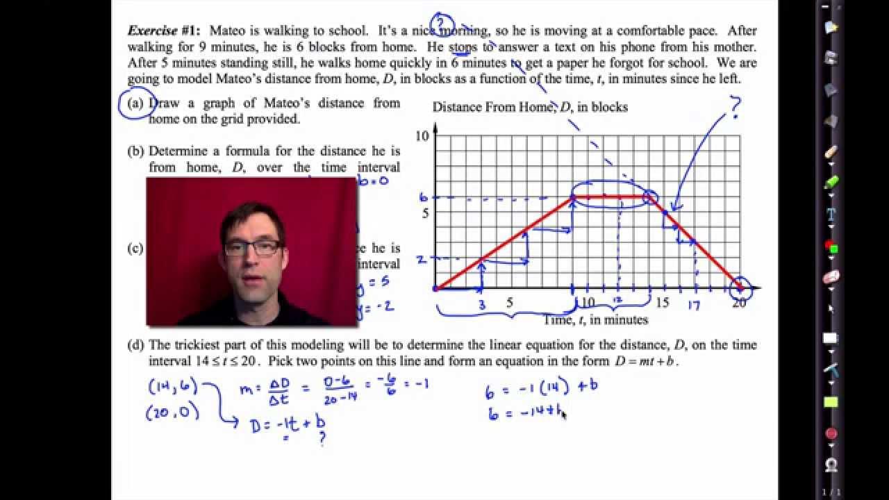 Common Core Algebra I Unit  11 Lesson  6 Piecewise Linear