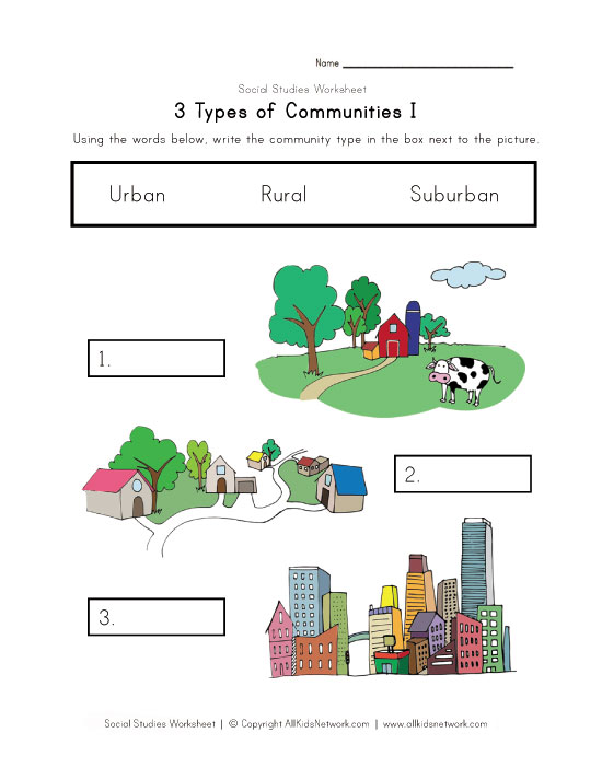 Communities Worksheets The Best Worksheets Image Collection