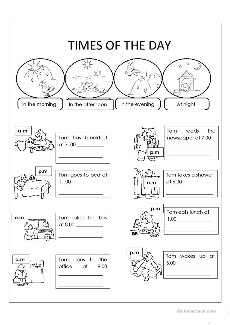 Day And Night Worksheet – Worksheets Samples