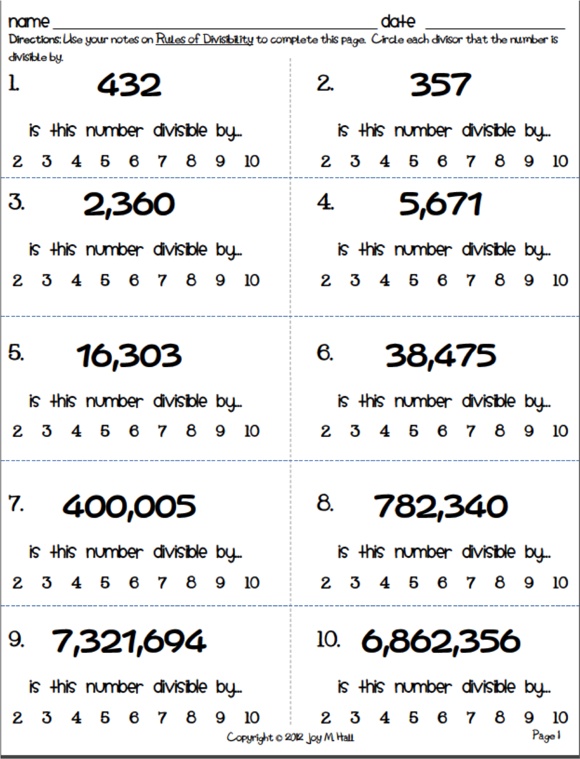 Divisibility Rules For Retake Png Fractions Worksheet 6th Grade