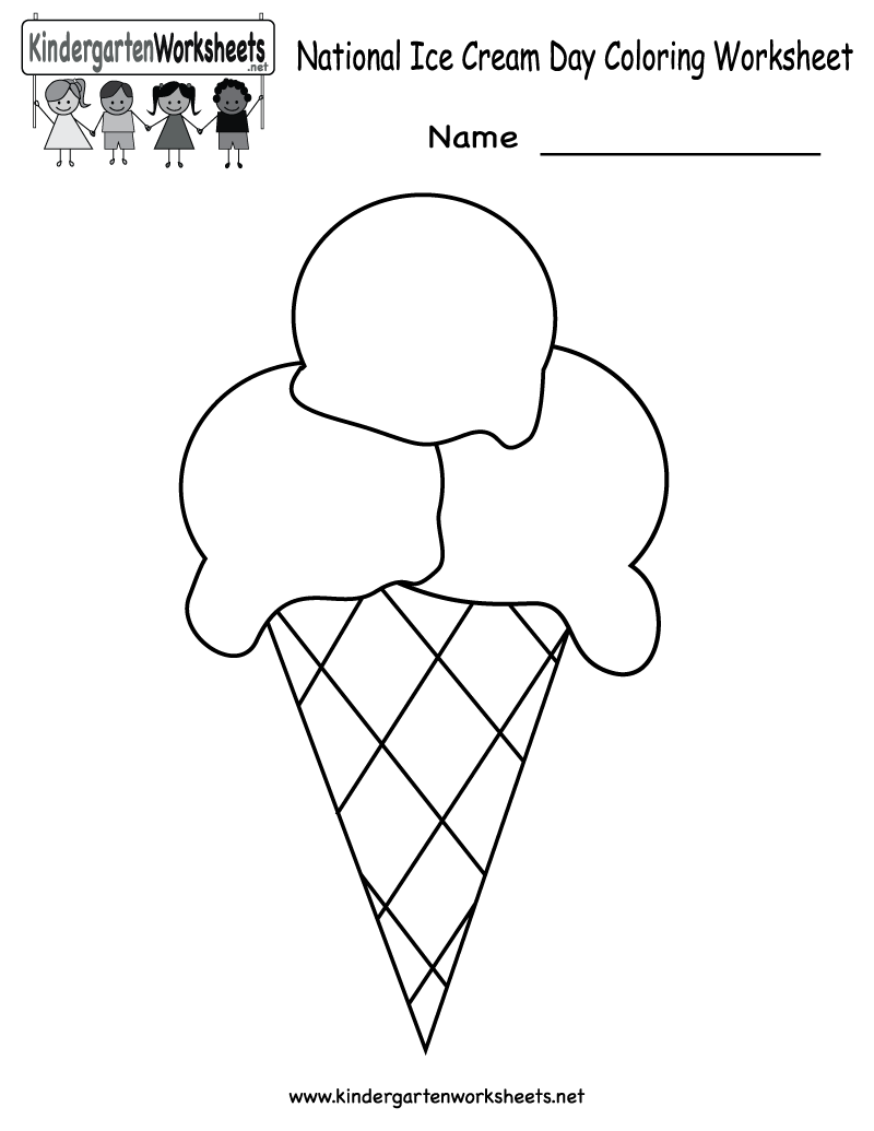 Drawing Worksheets For Kindergarten At Getdrawings Com