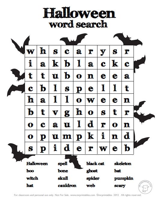 Easy Halloween Worksheets For Kindergarten 460448