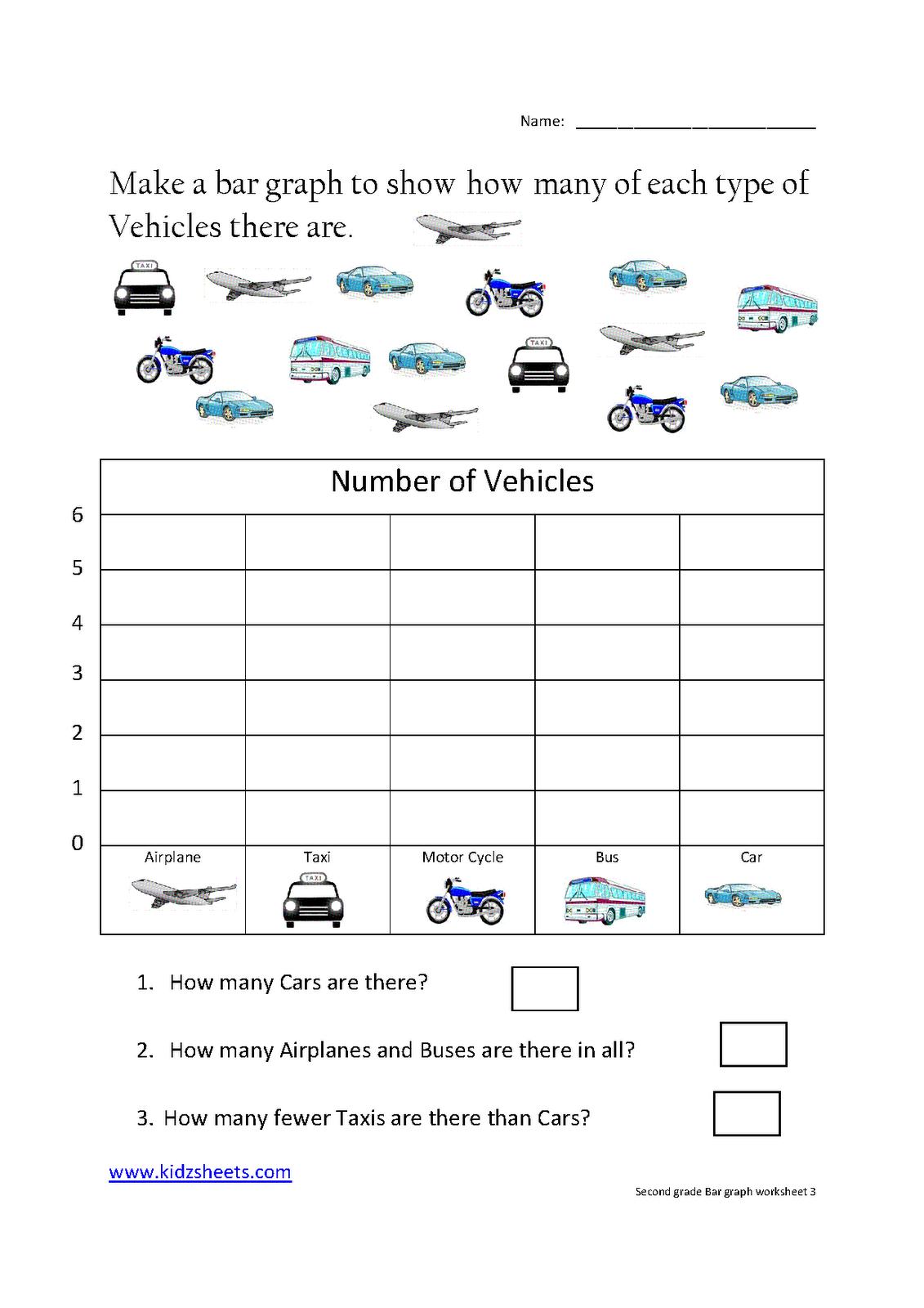 Elementary Bar Graph Worksheets The Best Worksheets Image