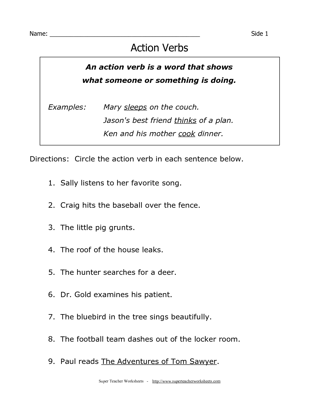 English Grammar Worksheets 4th Grade The Best Worksheets Image