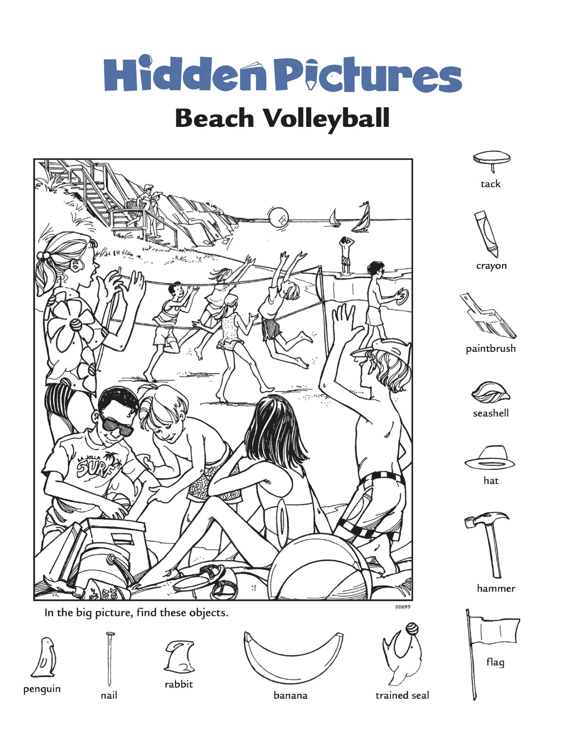 Find The Hidden Objects Worksheets The Best Worksheets Image