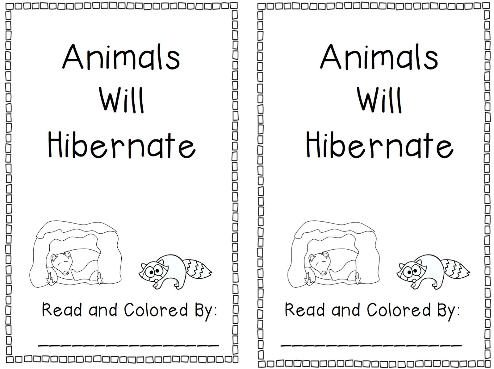 Free Printable Hibernation Worksheets For Kindergarten 299387